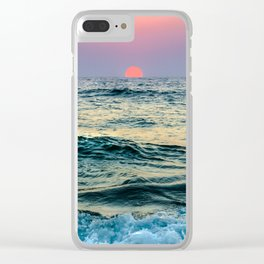 Sundown Clear iPhone Case