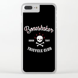 Boneshaker Clear iPhone Case