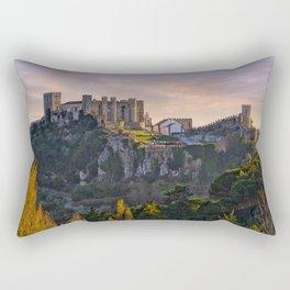 Castelo de Obidos, Estremadura, Portugal Rectangular Pillow