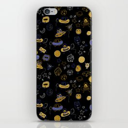 Don't be blue, we are all a little alien iPhone Skin