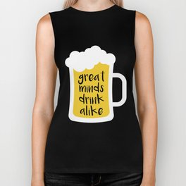 Beer - Great Minds Biker Tank