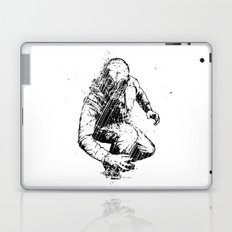 Trouble Will Find You, Always (Black/White Version) Laptop & iPad Skin