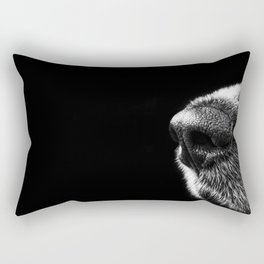 Sneaky Dog Rectangular Pillow