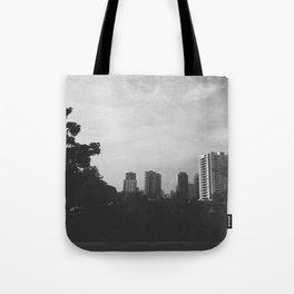 Sao Paulo Black and White Tote Bag