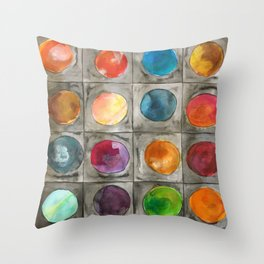 Mystery planets 1 Throw Pillow