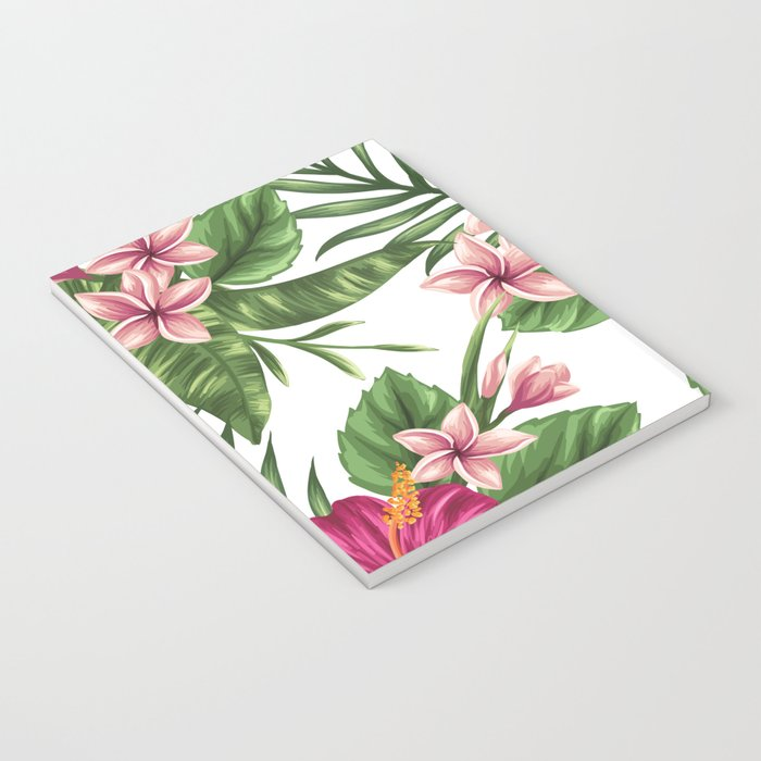 FLORAL PATTERN 9 Notebook