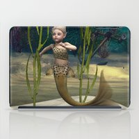 little mermaid iPad Cases featuring Little Mermaid by Design Windmill