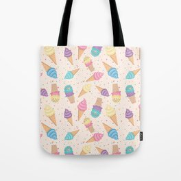 ice cream party Tote Bag