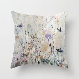 Summer Seeds Throw Pillow