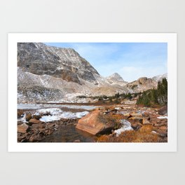 Mt Toll In The Distance Art Print