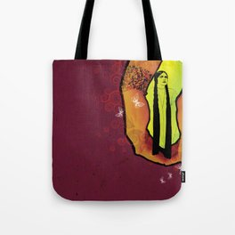 For you - maroon Tote Bag
