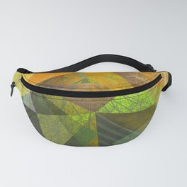 P24 Trees and Triangles Fanny Pack