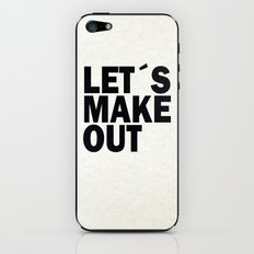 Let´s make out iPhone & iPod Skin