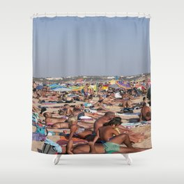 Beach Time 2! Shower Curtain