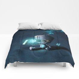 Glow Robot Comforters