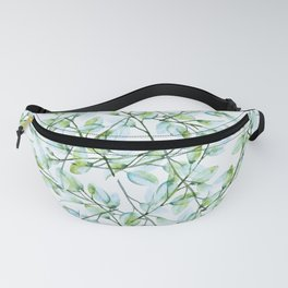 Delicate Leaves #society6 #buyart Fanny Pack