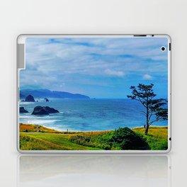 Blue Cannon Beach Laptop & iPad Skin