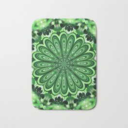 Mystery Green Puzzle Bath Mat