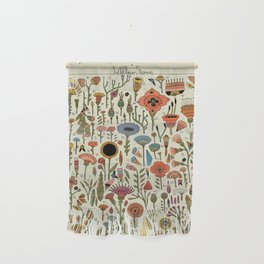 Wildflower Chart Wall Hanging