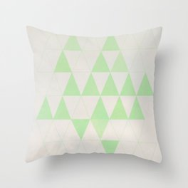 Mint your mind Throw Pillow