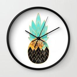Precious Pineapple 3 Wall Clock