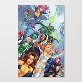 X-WOMEN Canvas Print