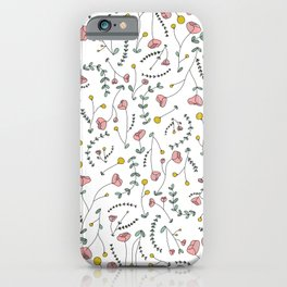 Floral Circus iPhone Case