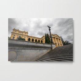 Ipiranga Museum, Sao Paulo - Brazil Metal Print