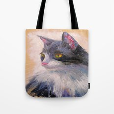 A lovely cat Tote Bag