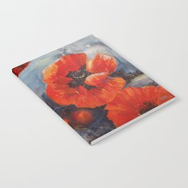 Poppies for K Notebook