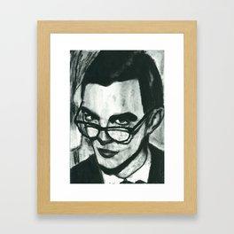 Not a Self Portrait Framed Art Print