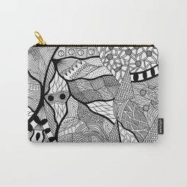 Pattern Chaos Carry-All Pouch
