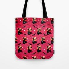 Unicorn Vampire Pattern Tote Bag
