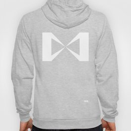 Simple Construction White Hoody