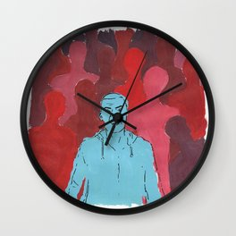 Alone in Anger.  Wall Clock