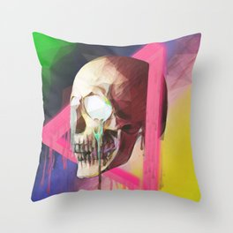 Dead Angles Throw Pillow