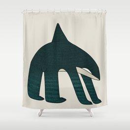 Orcabear Shower Curtain