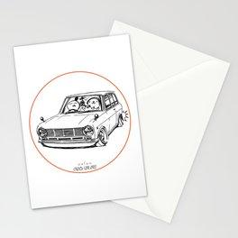 Crazy Car Art 0198 Stationery Cards