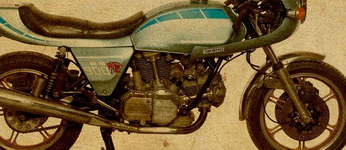 Ducati 900SS Darmah 1979 Coffee Mug By Cuentosdelbondi