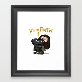 It's So Fluffy Framed Art Print