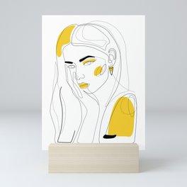 In Gold Mini Art Print