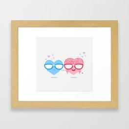 Nerd Love #1 Framed Art Print