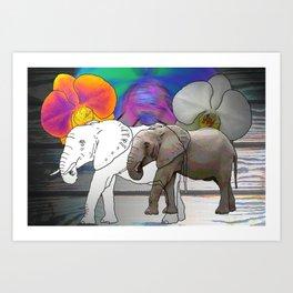 """'Eriphant"""" Art Print"""