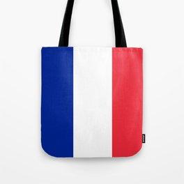 Flag of France Tote Bag