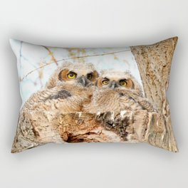 Two peas in a pod Rectangular Pillow