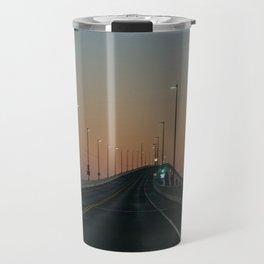 Bridge after sundown Travel Mug