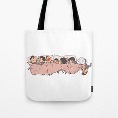 tiny Dereks in dreamland Tote Bag