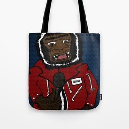 "Squatch, frontman for the band ""Sasquatch and the Bigfeet"" Tote Bag"
