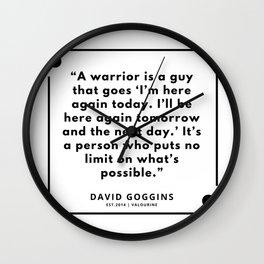65 | David Goggins Quotes | 190901 Wall Clock