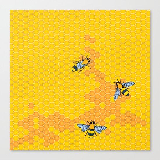 HoneyBees 1 Canvas Print